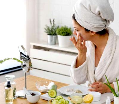 Очищение кожи природными средствами